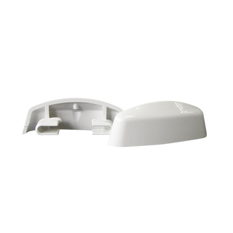 Cache temp tes slim line r no 30f blanc pour fen tres pvc for Nettoyage fenetre pvc blanc